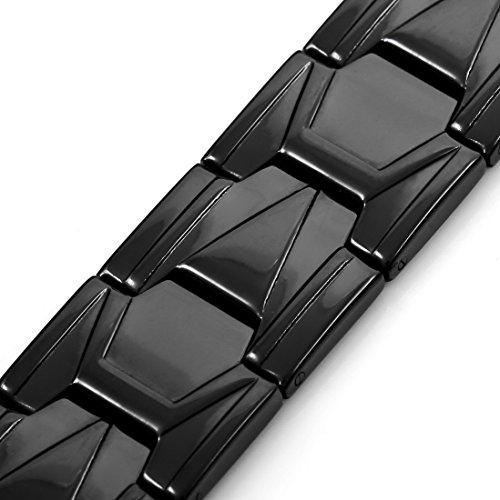#Should I buy INBLUE Men's Stainless Steel Bracelet Link Wrist Black Silver Gold Tone