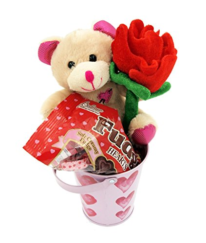 Valentines-Day-Plush-Bear-Rose-Heart-Chocolate-Gift-Set-Basket