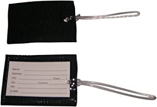 product image for Luggage Tags Unbreakable Tags 3 piece Durable nylon Webbing with Strong Loop Made in Usa