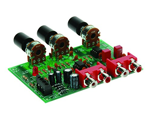 Velleman Volume and Tone Control Preamplifier Kit by Velleman
