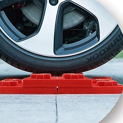 yosager 10 Pack Heavy Duty Leveling Blocks, Ideal for Leveling Single and Dual Wheels, Camper Levelers, Tongue Jacks, Hydraulic Jacks, Stabilizer Jacks, Red: Automotive