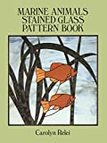 img - for Marine Animals Stained Glass Pattern Book (Dover Stained Glass Instruction) book / textbook / text book
