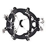 12 Teeth Non-slip Ice Snow Climbing Anti-slip Shoe Covers Spike Cleats Crampons Outdoor Tools