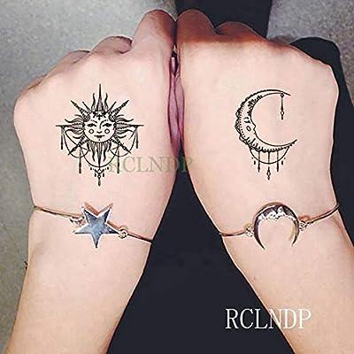 tzxdbh 3pcs-Impermeable Etiqueta engomada del Tatuaje ...
