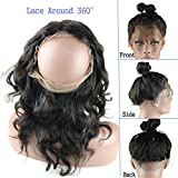 Dreambeauty 7A Cheap Brazilian Lace Frontal Closure Human Hair 13x2 Bleached Knots Virgin Straight Full Lace Frontal Pieces 10inch