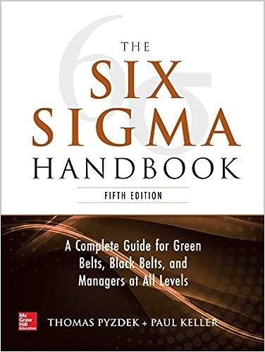 5E The Six Sigma Handbook