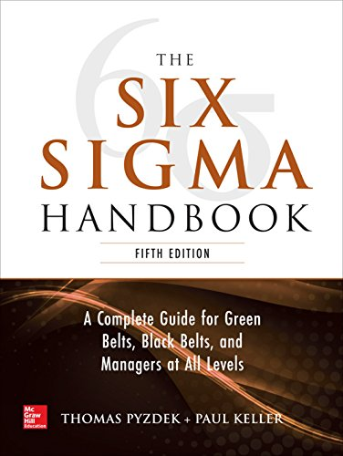 The Six Sigma Handbook, 5E (Books On Lean Six Sigma)