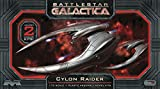 Moebius Battlestar Galactica Cylon Raider 1:72 Scale Model Kit 2-Pack