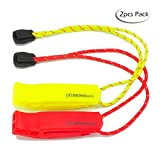 HEIMDALL Safety Whistle lanyard (2 pack) Boating Camping Hiking Hunting Emergency Survival Rescue Signaling