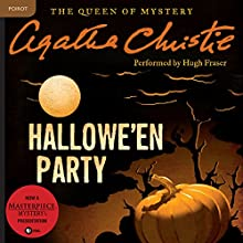 Hallowe'en Party: A Hercule Poirot Mystery Audiobook by Agatha Christie Narrated by Hugh Fraser