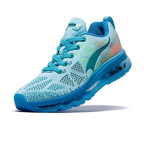 Compétition Running Ete Chaussures Femme Basses Light Sport Blue Trail Onemix Air Course Homme De Baskets BYgH4q
