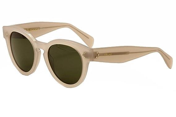 57fd252c08 Amazon.com  Céline Sunglasses - 41049 S   Frame  Pink Lens  Green ...