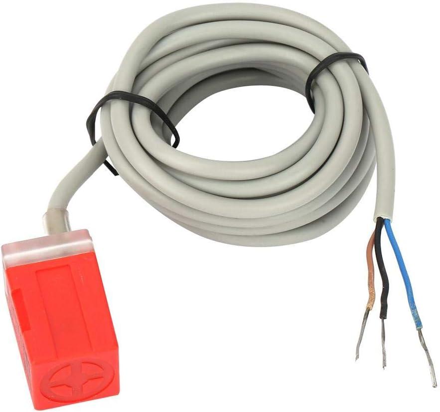 Interruptor de proximidad de detección de sensor inductivo PS-05N 3 cables NPN DC12-24V normalmente abierto