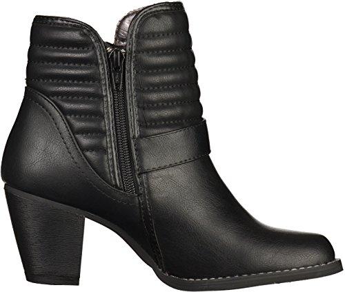 Dockers27LD237 - botines de caño bajo Mujer Negro - negro