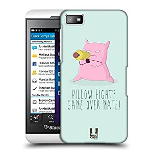 Head Case Designs Kim Pillow Deathmatch Protective Snap-on Hard Back Case Cover for BlackBerry Z10