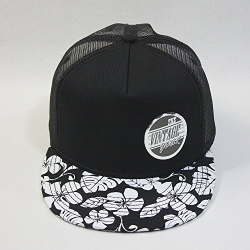 8ecfa4c00f4 Vintage Year Premium Floral Hawaiian Cotton Twill Adjustable Snapback Hats  Baseball Caps