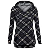 IEason Women top Fashion Casual Womens Long Sleeve Sweatshirt Jumper Pullover Print Blouse