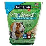 Vitakraft Vitasmart Guinea Pig Food - High Fiber Timothy Formula, 4 Lb.