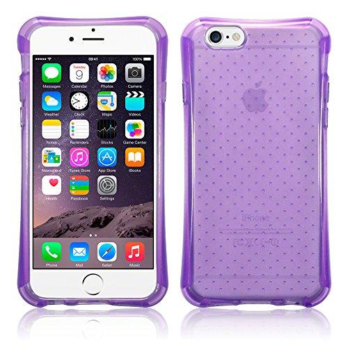 Terrapin TPU Gel Custodia per iPhone 6 Case, Colore: Porpora