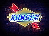 Desung New 24''x20'' S UNOCO Neon Sign with HD Vivid Printing Technology Unique Handmade Neon Lamp Light HD04