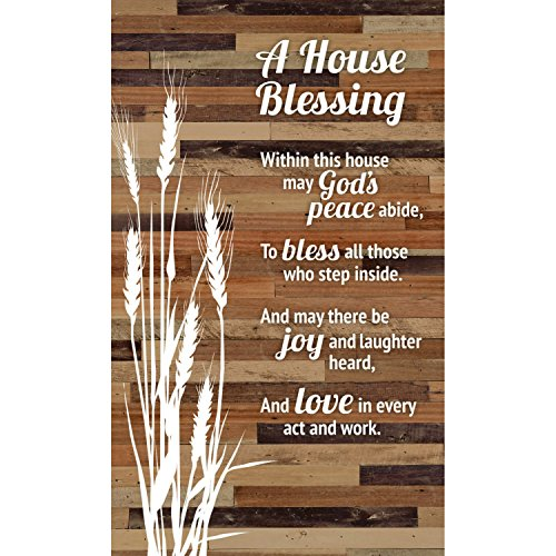 Plaque-Wood Silhouettes-A House Blessing (6″ x 9″)