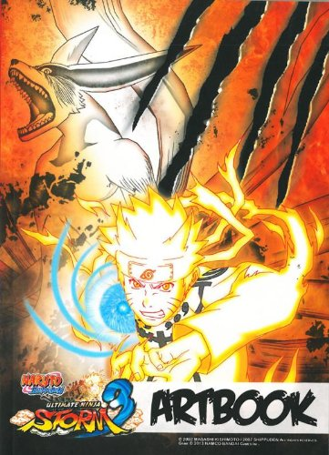 Amazon.com: Naruto Shippuden Ultimate Ninja Storm 3 Artbook ...