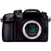 Panasonic mirror-less SLR LUMIX GH4 body Black DMC-GH4-K [International Version, No Warranty]