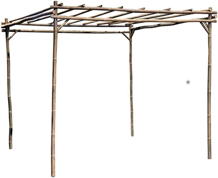 MGP Pérgola cuadrada de bambú de 8 pies de ancho x 8 pulgadas de largo x 7 pulgadas de alto: Amazon.es: Jardín