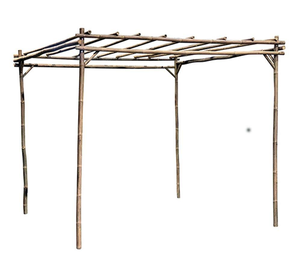 MGP Square Bamboo Pergola 8'W x 8'L x 7'H