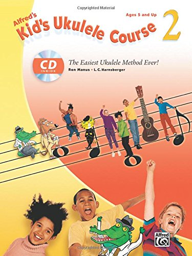 Alfreds Kids Ukulele Course Easiest product image