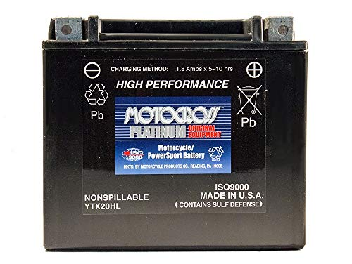 - 12V 18AH Battery for Polaris 850 Sportsman 2010-2012