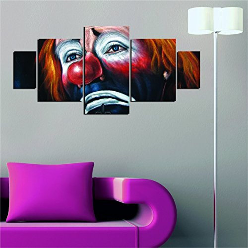 Red Nose MDF Wall Art - Clowns Can