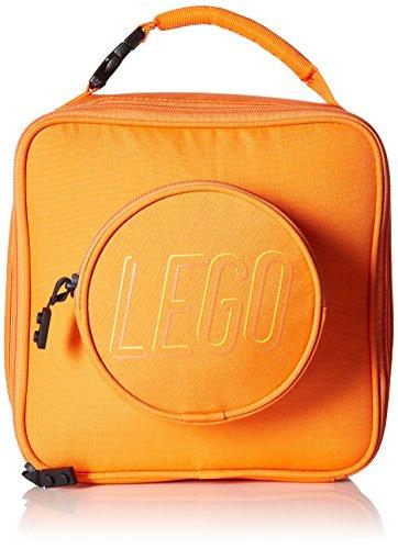 LEGO Kids Brick Lunch Backpack, Orange, One Size