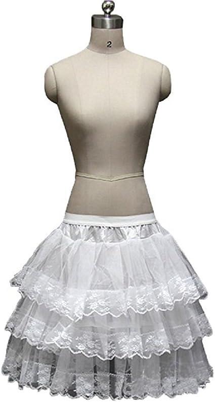 Style6 Noriviiq Girls Hoopless Net Petticoat Kids Flower Girl Underskirt for Bridesmaid