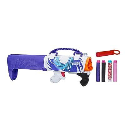 Nerf Rebelle Secret Shot Blaster, Purple: Toys & Games [5Bkhe1402801]
