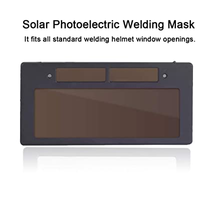 SSXY Máscara de soldadura Filtro Solar Solar Oscurecimiento Soldadura Casco Lente Filtro Horizontal Filtro Máscara Sombra