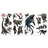 York Wallcoverings RMK3798SCS Jurassic World: Fallen Kingdom Peel and Stick Wall Decals, Colorful