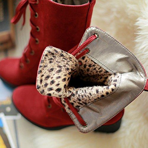 Classic Boot AIYOUMEI Classic WoMen Red WoMen Red Boot AIYOUMEI AIYOUMEI daBnawq5
