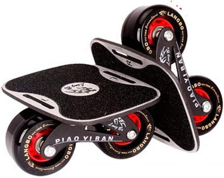 SGLI ドリフトボード大人4輪スプリットスケートボードスケートボード13×16cm スケートボード (Color : C) C