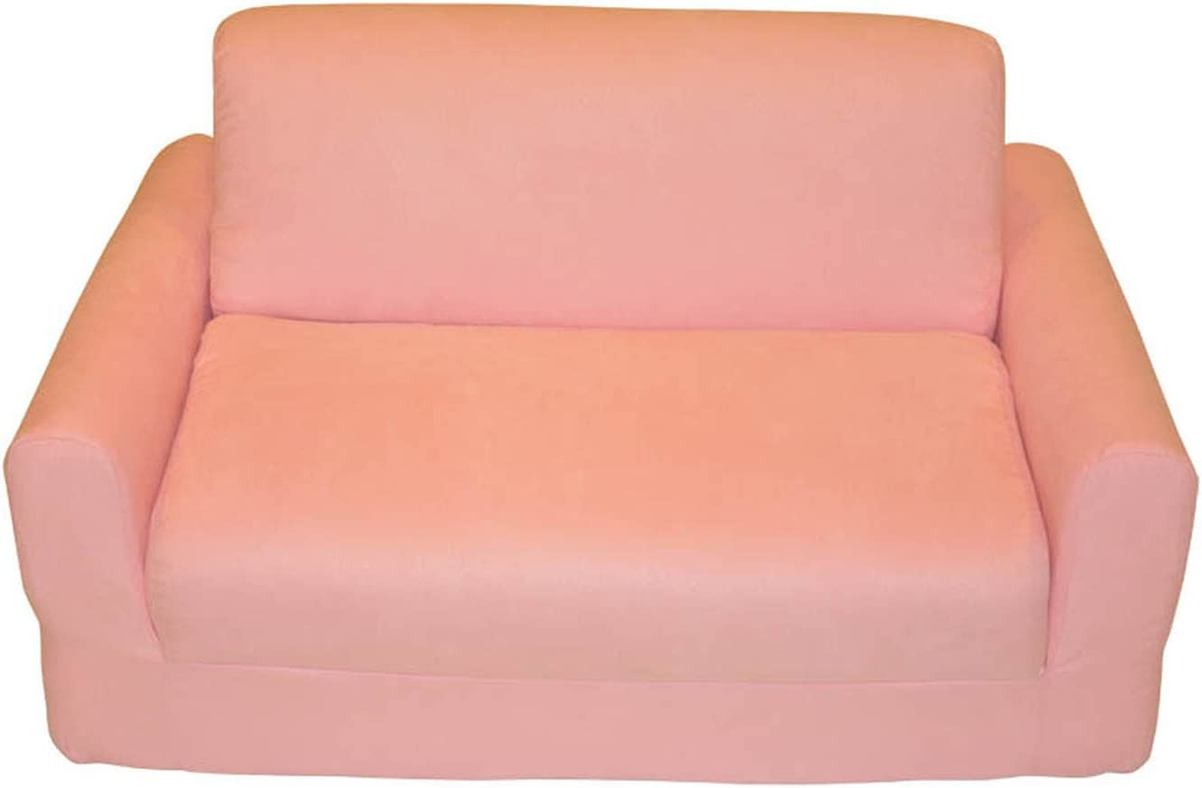 - Amazon.com: Fun Furnishings Sofa Sleeper, Pink Micro Suede