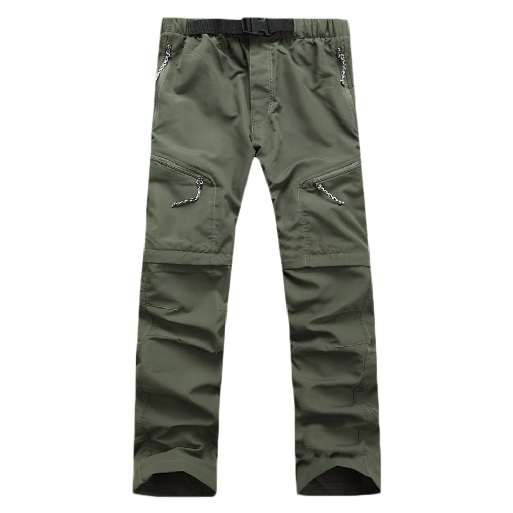 5b9c2fcb282cf Amazon.com   Men and Women Outdoor Detachable Quick Dry Hiking Pants Sports  Convertible Pant for Camping Trekking   Sports   Outdoors