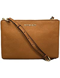Jet Set Travel Double Zip Gusset Signature Crossbody