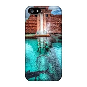 High Impact Dirt/shock Proof Case Cover For Iphone 5/5s (underwater Waterslide)