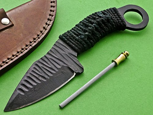 SkH-001, Custom Handmade Full Tang Hi Carbon Steel Knife – Perfect Grip