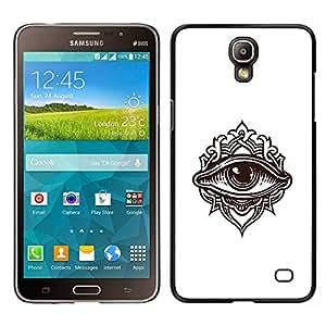 EJOY---Cubierta de la caja de protección para la piel dura ** Samsung Galaxy Mega 2 ** --Detallada ilustración de ojos