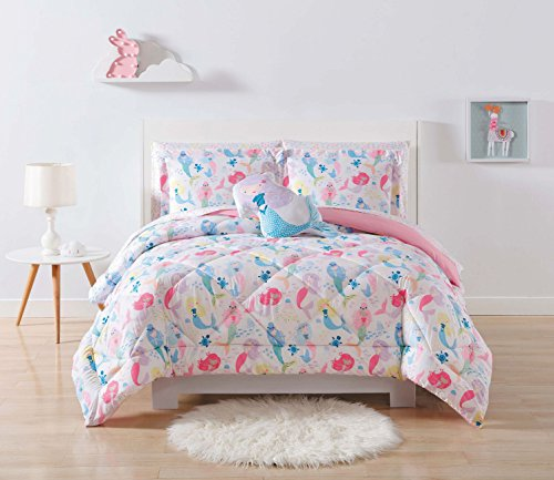 Laura Hart Kids Comforter Set, Full/Queen, (Little Mermaid Comforter)