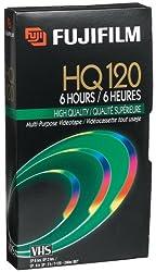 Fuji 23021121 Hq T-120 Vhs Video Cassette (Discontinued By Manufacturer)
