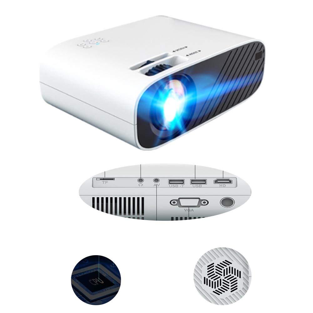 LFDD Mini proyector, soporta 1080p Full HD, cámara de vídeo con ...
