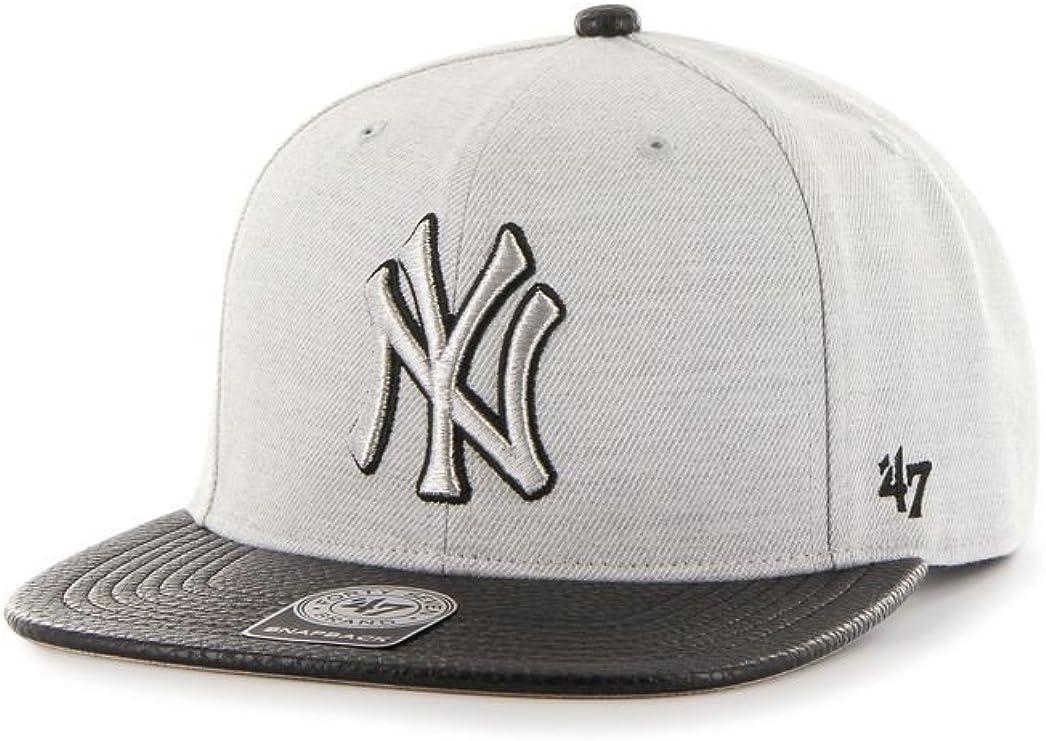 Gorra 47 Brand – Mlb New York Yankees Snapback gris/negro talla ...
