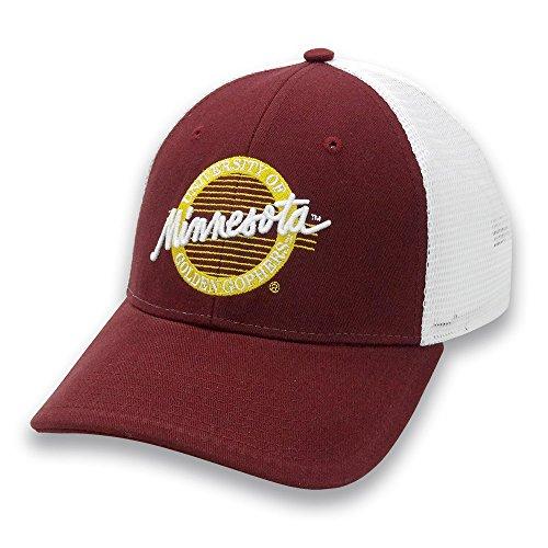 NCAA Minnesota Golden Gophers Adult The Game Everyday Trucker Mesh Hat Adjustable, Maroon